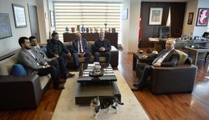 CHP Karabük İl Başkanı Çakır, Başkan Gökhanı ziyaret etti