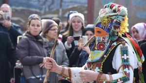 Edirnede Kukerlandia Maske Festivali