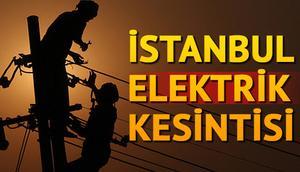 Elektrikler en zaman gelecek 19-20 Şubat İstanbul elektrik kesintisi