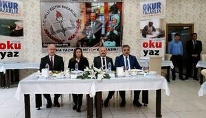 """Amasya'da """"Okuryazarlık"""" kampanyası başlatıldı"""
