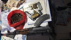 Adıyamanda silah operasyonu: 4 gözaltı