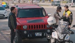 Çukur son bölümde trafik polisi sahnesi ile tepki çekti