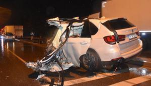 Ciple kamyonet çarpıştı: Bir kişi hayatını kaybetti