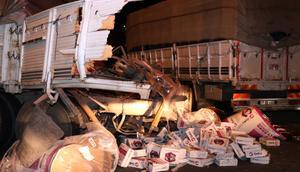 İzmirde zincirleme trafik kazası: 2 yaralı
