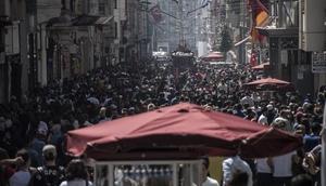 (Ek fotoğraflar) - İstanbul 27,4 dereceyi gördü