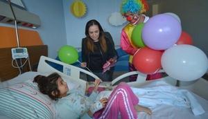 Adana Şehir Hastanesinde 23 Nisan kutlaması