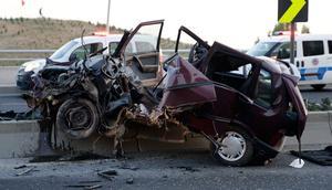 Genç kadının feci şekilde öldüğü kazada şok iddia