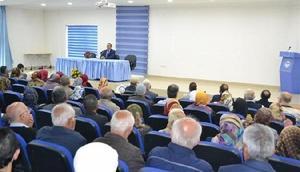 Kırşehirde Hacca gidecek vatandaşlara seminer verildi