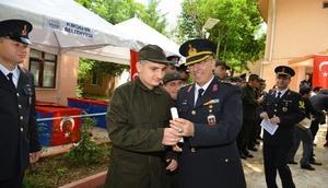 Kırşehir'de engelli gençlerin askerlik mutluluğu