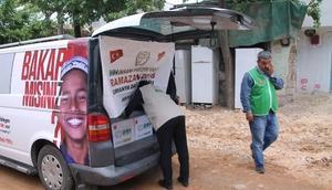Adıyaman'da 2 bin 500 aileye gıda yardımı