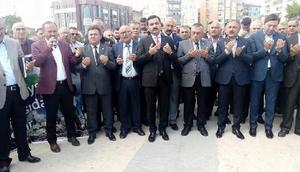 Kırşehir'de İsrail ve ABD protesto edildi