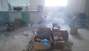 Gümüşhanede üniversite laboratuvarında patlama: 1 öğrenci yaralı