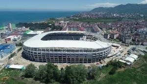 Ordunun fındık figürlü yeni stadyumu gelecek sezon açılıyor