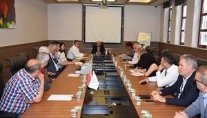 54. Tekirdağ Uluslararası Kiraz Festivali koordinasyon toplantısı yapıldı