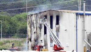 Yalovada kimya fabrikasında yangın