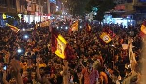 Adıyamanda Galatasaray coşkusu