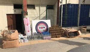 Mersin'de polis kaçakçılara izin vermedi