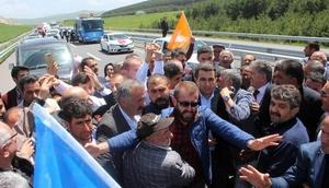 Milletvekili adaylarına Ardahanda coşkulu karşılama