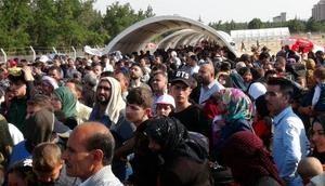 Kiliste bayrama giden Suriyeliler izdihama yol açtı