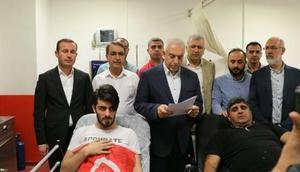 Mardinde Ak Parti Gençlik Kolları üyelerine saldırı
