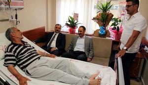 Şehit Fethi Sekin'in babasına minibüs çarptı
