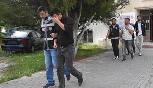 Kütahyada yasa dışı bahise 4 tutuklama