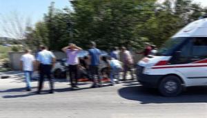 Yolcu otobüsü ile otomobil çarpıştı: 2 ölü, 1 yaralı
