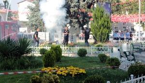 Tokatta Cumhurbaşkanı Erdoğan için 41 pare top atışı