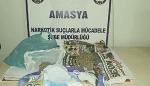 Amasya merkezli uyuşturucu operasyonunda 3 tutuklama