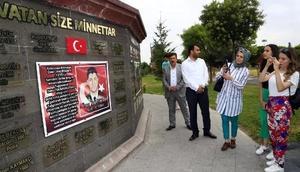 15 Temmuz şehitlerinin çocukları Nevşehir gezisine katıldı