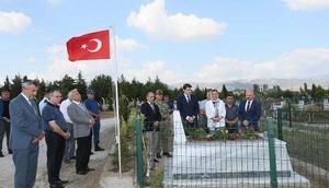 Amasyada 15 Temmuz şehidi mezarı başında anıldı