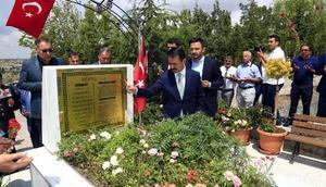 Nevşehirde şehit mezarları ziyaret edildi