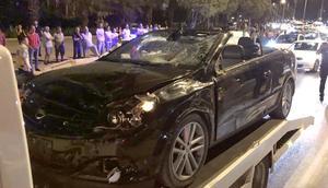 Korkunç kaza: Baba-kız hayatını kaybetti