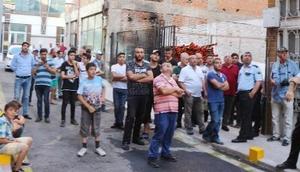 Kırıkkalede yerel gazetelerin bulunduğu binada yangın endişe yarattı