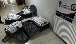 Nevşehirde 2 bin 650 paket kaçak sigara ele geçirildi