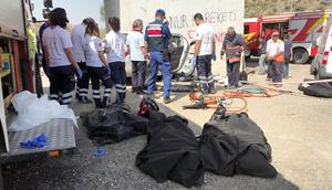 Ankarada feci kaza: 4 ölü