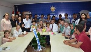 AK Partili Çankırıdan esnaf ziyareti