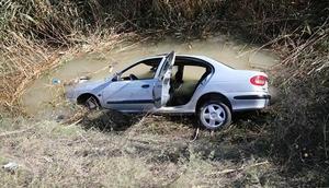 Otomobil dereye devrildi... Aile faciası: 3 ölü