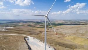 Konyada rüzgar enerjisiyle, 150 bin konutun elektrik ihtiyacı karşılanacak