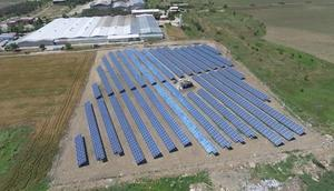 Edirnede tekstil fabrikası, enerjisini güneşten üretecek