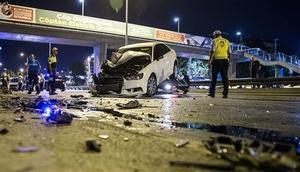 Bakırköyde trafik kazası: 3 yaralı
