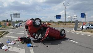 Kütahyada zincirleme kaza: 7 yaralı