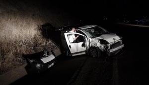 Tuncelide kaza: 7 yaralı