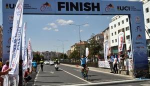 Uluslararası Kapadokya Bisiklet Turunun ilk etabı, Nevşehirde yapıldı