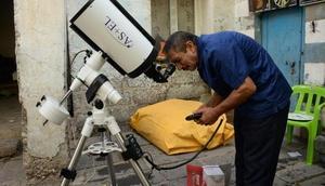 Diyarbakırın astronumu teleskopuna kavuştu