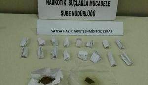 Rizede uyuşturucu operasyonu: 3 tutuklama
