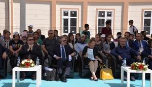 Diyarbakırda, AB destekli Prefabrik eğitim kurumlarında ilk ders zili çaldı