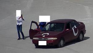 Türkiyede bir ilk Kiki challenge cezası kesildi