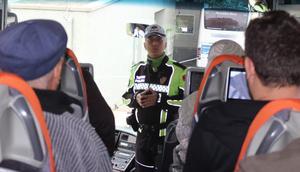 Şehirlerarası otobüslerde şok kontrol