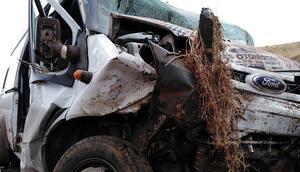 Elazığda feci kaza
